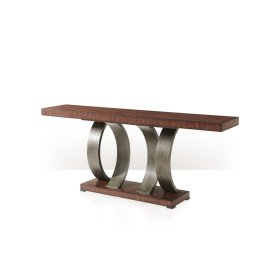 Inward Curve Console Table