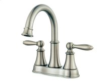 Brushed Nickel Courant Centerset Bath Faucet