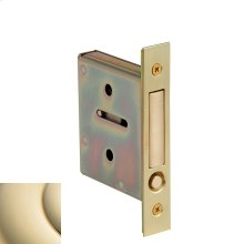 Lifetime Polished Brass 8601 Pocket Door Pull
