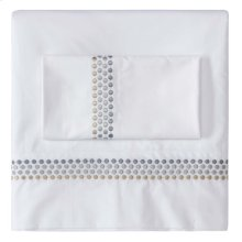 Jewels Sheet Set, Cases and Shams, PLATINUM, KG