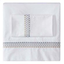 Jewels Sheet Set, Cases and Shams, PLATINUM, EURO