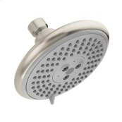 Brushed Nickel Showerhead 120 3-Jet, 2.0 GPM