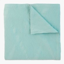 Cameron Matelasse Coverlet & Shams, LAKE, KG