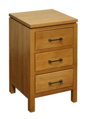 3 Drawer Nightstand Product Image
