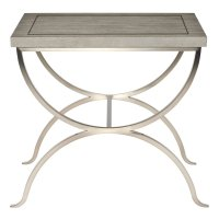 Marquesa End Table in Gray Cashmere (359) Product Image