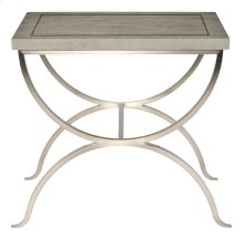 Marquesa End Table in Gray Cashmere (359)
