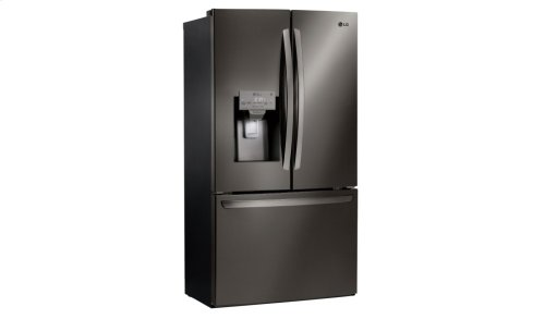 LG Black Stainless Steel Series 28 cu.ft. Capacity 3-Door French Door Refrigerator