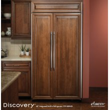 """Discovery 42"""" Integrated Built-In Refrigerator"""