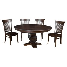 """54"""" Solid Top**6/4**Thick Top ** Pedestal Table"""