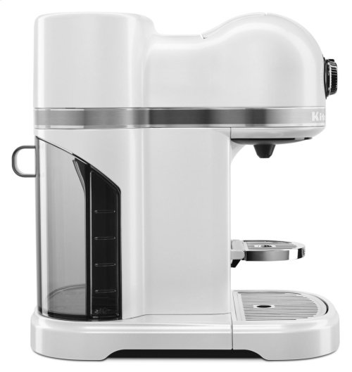 Nespresso® Espresso Maker by KitchenAid® with Milk Frother - Frosted Pearl White