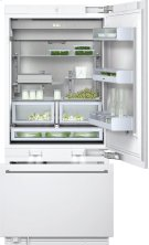 "Two-door bottom freezer with integrated ice maker RB 492 701 with temperature controlled drawer Fully integrated appliance Width 36"" (91.4 cm) Product Image"