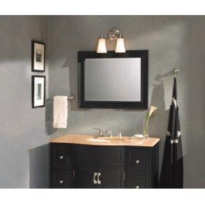 Rothbury brushed nickel bath light