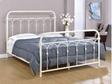 Hallwood Bed - Queen, Antique White Finish