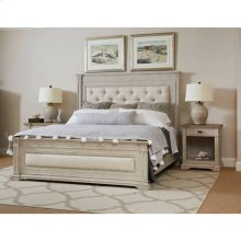 Portico Upholstered Bed - Shell / Queen