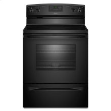 Amana® 30-inch Amana® Electric Range with Easy Touch Electronic Controls - Black