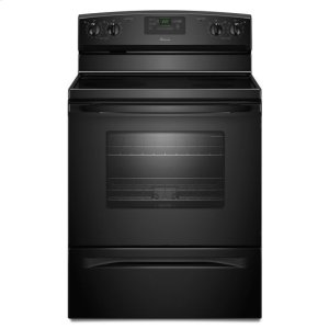 AmanaAmana(R) 30-inch Amana(R) Electric Range with Easy Touch Electronic Controls - Black