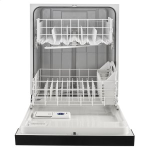 Heavy-Duty Dishwasher with 1-Hour Wash Cycle - BLACK