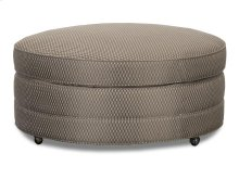 Round Accent Cocktail Ottoman - (A3099-5)