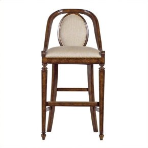 Arrondissement - Parc Bar Stool In Heirloom Cherry