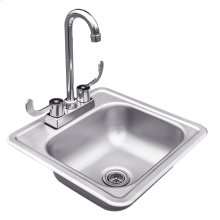 Stainless Steel Drop in Sink with Faucet