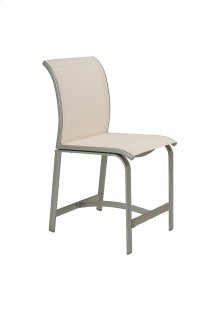 Elance Relaxed Sling Armless Counter Height Stool