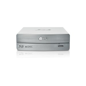 LG ElectronicsExternal Blu-ray/DVD Writer 3D Blu-ray Disc Playback & M-DISC Support