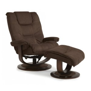FLEXSTEELHOMESpencer Fabric Chair and Ottoman