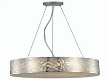 2081 Prism Collection Hanging Fixture Chrome Finish (Royal Cut Crystals)