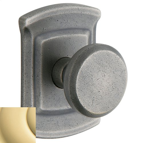 Non-Lacquered Brass 5023 Estate Knob