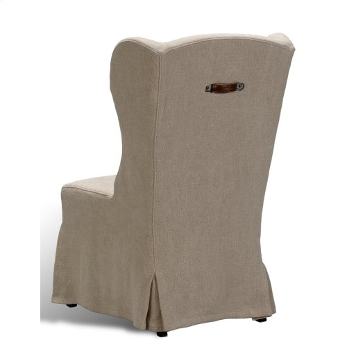 Duchess Dining Chair, Wheat Linen