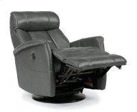 Hart Leather King Power Swivel Gliding Recliner Product Image