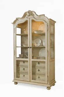 Provenance Display Cabinet - Linen
