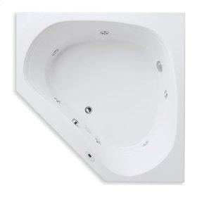 "Easy-Clean High Gloss Acrylic Surface, Corner, AirMasseur® - Whirlpool Bathtub, Standard Package, 60"" X 60"""