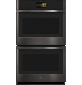 """GE Profile Series 30"""" Built-In Convection Double Wall Oven"""