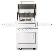 K500HT Hybrid Fire Freestanding Grill