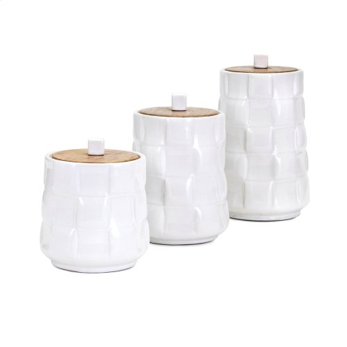 Gamil Canisters - Set of 3