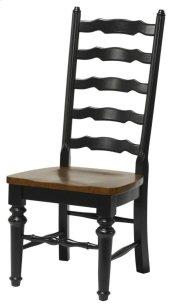 Windswept Ladder Back Side Chair