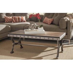 Hillsdale FurniturePaddock Coffee Table - Ctn B - Base Only