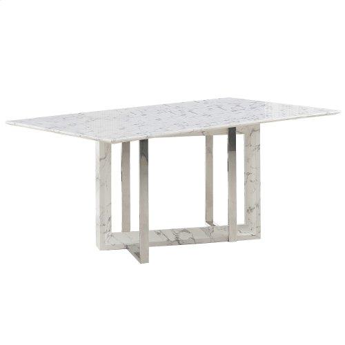 Lloyd White/Galyn 7pc Dining Set