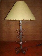 Longhorn Metal Lamp Product Image