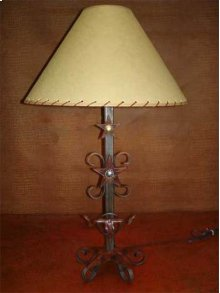 Longhorn Metal Lamp