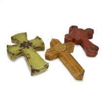 Sonora Ceramic Cross Boxes - Set of 3