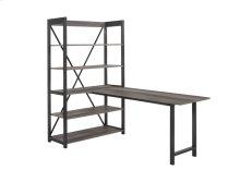 Desk and Bookcase Set