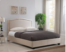 Abbotsford Platform Bed - Queen, Taupe
