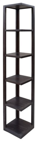 Bengal Manor Mango Wood Grey Corner Etagere Product Image