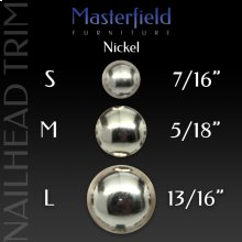 Nickel Nail Head Trim