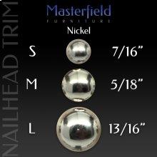 Nickel Nail Head Trim
