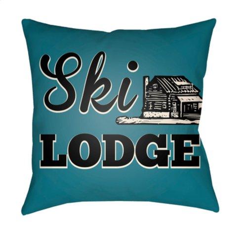 "Lodge Cabin LGCB-2038 22"" x 22"""