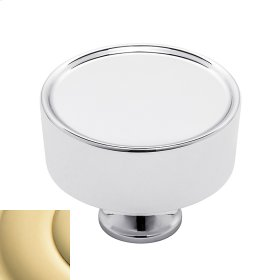 Non-Lacquered Brass Hollywood Hills Cabinet Knob