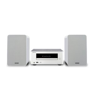 OnkyoColibrino CD Hi-Fi Mini System with Bluetooth (White)